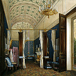 Hau Edward Petrovich – Types of rooms of the Winter Palace. Dressing Room of Empress Alexandra Feodorovna, part 03 Hermitage