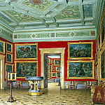 Hau Edward Petrovich – Types halls of the New Hermitage. Hall of the Flemish school , part 03 Hermitage