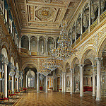 Hau Edward Petrovich – Types halls of the Small Hermitage. Pavilion Hall, part 03 Hermitage