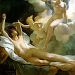 Guerin, Pierre Narcisse – Morpheus and Iris, part 03 Hermitage
