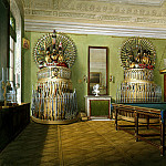 part 03 Hermitage - Hau Edward Petrovich - Types of rooms of the Winter Palace. Billiard Room of Emperor Alexander II