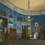 Hau Edward Petrovich – Types halls of the Small Hermitage. Bedroom Crown Prince Nikolai Alexandrovich, part 03 Hermitage
