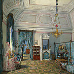 part 03 Hermitage - Hau Edward Petrovich - Types of rooms of the Winter Palace. Fifth spare half. Bedroom conducted. Princess Maria Alexandrovna