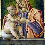 Vivarini, Bartolommeo – Madonna and Child, part 03 Hermitage