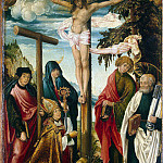 Vertinger, Hans – Crucifixion with the upcoming, part 03 Hermitage