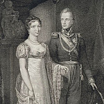Velin, P. – Portrait of Prince William of Orange with his wife, Anna Pavlovna, part 03 Hermitage