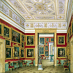 Hau Edward Petrovich – Types halls of the New Hermitage. Study Italian schools, part 03 Hermitage
