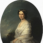 Winterhalter, Francois Xavier – Portrait of Countess Sophia Andreevny Bobrinsk, part 03 Hermitage