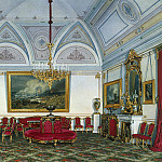 Hau Edward Petrovich – Types of rooms of the Winter Palace. Third spare half. Seating , part 03 Hermitage