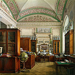 Hau Edward Petrovich – Types of rooms of the Winter Palace. The Library of Emperor Alexander II, part 03 Hermitage