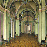 part 03 Hermitage - Hau Edward Petrovich - Types of rooms of the Winter Palace. Fourth spare half. Corridor