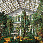 Hau, Eduard Petrovich – Types halls of the Small Hermitage. Winter Garden, part 03 Hermitage