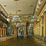 part 03 Hermitage - Hau Edward Petrovich - Types of rooms of the Winter Palace. Armorial Hall