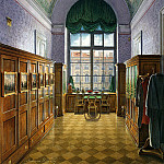 part 03 Hermitage - Hau Edward Petrovich - Types of rooms of the Winter Palace. Dressing the Emperor Alexander II