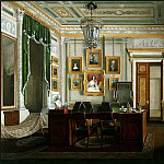Hau Edward Petrovich – Types of rooms of the Winter Palace. Cabinet of Emperor Alexander II, part 03 Hermitage