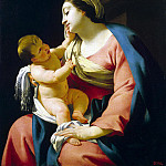 part 03 Hermitage - Vouet, Simone - Madonna with Child