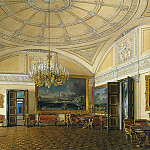 part 03 Hermitage - Hau Edward Petrovich - Types of rooms of the Winter Palace. The first half of the spare. Grand Salon