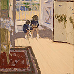Children in the room, Edouard Vuillard
