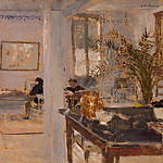 In a room, Edouard Vuillard