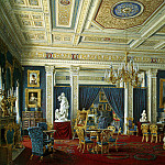 Hau Edward Petrovich – the Mariinsky Palace in St. Petersburg. Blue room, part 03 Hermitage