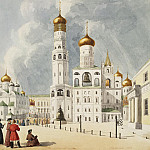 part 03 Hermitage - Gilbertzon, E. - Ivan the Great Bell Tower and the Archangel Cathedral of Moscow Kremlin