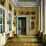 part 03 Hermitage - Hau Edward Petrovich - Types of rooms of the Winter Palace. Migrating from Small Fieldmarshal hall in the Military Gallery