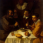 Velazquez, Diego – Breakfast, part 03 Hermitage