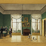 Gaertner, Johann Philipp Edward – Office of Prince Wilhelm in Sans-Souci, part 03 Hermitage