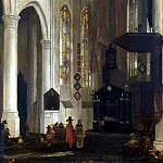 Witte, Emanuel de – Internal view of the Old Church in Delft, part 03 Hermitage