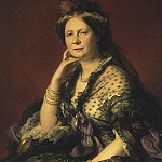 part 03 Hermitage - Winterhalter, Francois Xavier - Portrait of Grand Duchess Elena Pavlovna