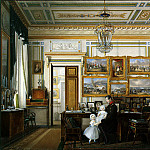 part 03 Hermitage - Hau Edward Petrovich - Types of rooms of the Winter Palace. Study of the Emperor Alexander II (3)
