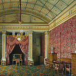 part 03 Hermitage - Hau Edward Petrovich - Types of rooms of the Winter Palace. The first half of the spare. Bedroom conducted. book. Maria Nikolaevna