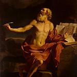 Guercino – St. Jerome in the Desert, part 03 Hermitage