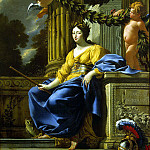 part 03 Hermitage - Vouet, Simon - Allegorical portrait of Anne of Austria