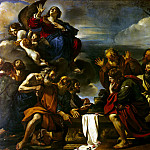 Guercino – Ascension Madonna, part 03 Hermitage