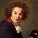part 03 Hermitage - Vigee-Lebrun, Elisabeth-Louise - Portrait of Count Grigory Ivanovich Chernyshev with a mask in hand