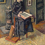 Guerin, Charles – Girl with book, part 03 Hermitage