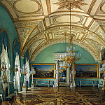 Hau Edward Petrovich – Types of rooms of the Winter Palace. Third Meeting of the Military Gallery, part 03 Hermitage