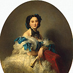 Winterhalter, Francois Xavier – Portrait of Countess Varvara Musina-Pushkina Alexeyevna, part 03 Hermitage