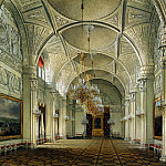 Hau Edward Petrovich – Types of rooms of the Winter Palace. Alexander Hall, part 03 Hermitage