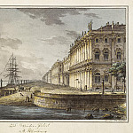 Vorobiev, MN – View of the Winter Palace from the Neva, part 03 Hermitage