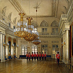 part 03 Hermitage - Hau Edward Petrovich - Types of rooms of the Winter Palace. Great Hall of Field Marshals