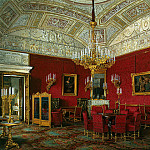 Hau Edward Petrovich – Types of rooms of the Winter Palace. Large living room of the Empress Alexandra Feodorovna , part 03 Hermitage