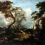 Guardi, Francesco – Landscape, part 03 Hermitage