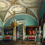 Hau Edward Petrovich – Types of rooms of the Winter Palace. Fourth Meeting of the Military Gallery, part 03 Hermitage