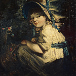 part 03 Hermitage - Gardner Daniel - Girl in straw hat