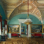 part 03 Hermitage - Hau Edward Petrovich - Types of rooms of the Winter Palace. The second hall of the Military Gallery