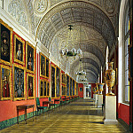 part 03 Hermitage - Hau Edward Petrovich - Types halls of the Small Hermitage. Romanov Gallery