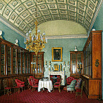 Hau Edward Petrovich – Types of rooms of the Winter Palace. The Library of Emperor Alexander II , part 03 Hermitage