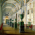 part 03 Hermitage - Hau Edward Petrovich - Types halls of the New Hermitage. Gallery of the History of Ancient Painting